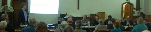 Dulwich Community Council Meeting, 19.3.2014. chaired by Helen Hayes